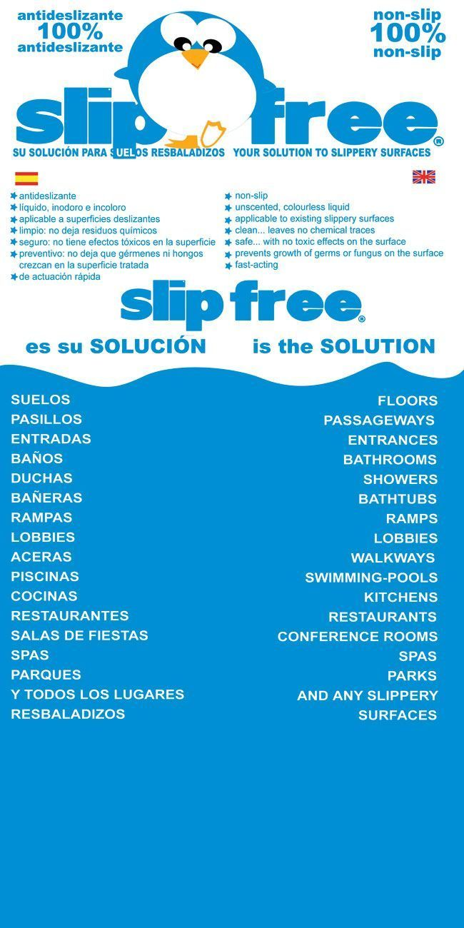 Folleto Slipfree 3