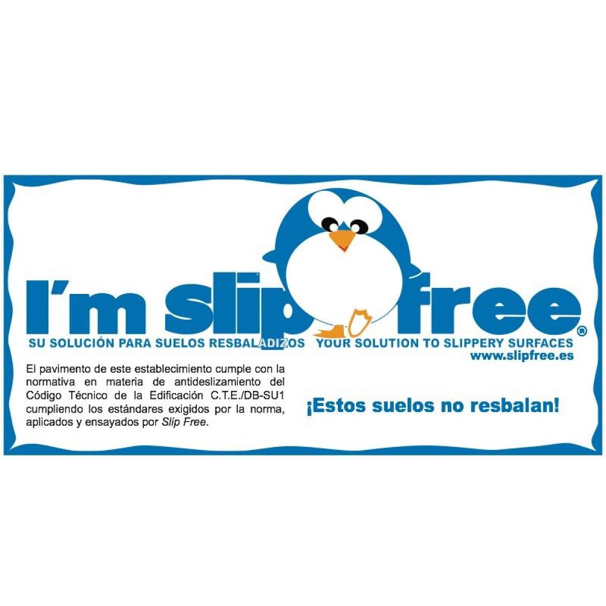 Slipfree es tu solucion antideslizante